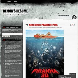 Movie Review: PIRANHA 3D (2010). « Demon's Resume