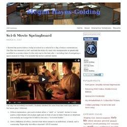 Sci-fi Movie Springboard « Megan Golding