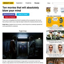 Ten movies that will absolutely blow your mind