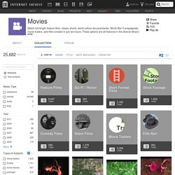 Movies : Free Movies : Free Download, Borrow and Streaming