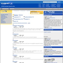 Flash Kit, A Flash Developer Resource for Macromedia Flash 8 and