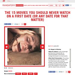 movies you should not watch on a first date, Megan is Missing