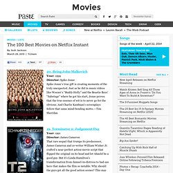 The 100 Best Movies on Netflix Instant