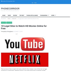 10 Legal Sites to Watch HD Movies Online for Free