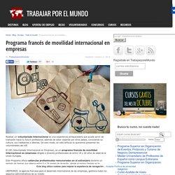 Programa francés de movilidad internacional en empresas
