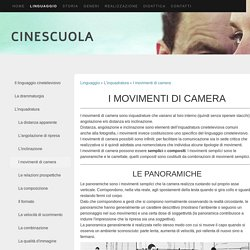 I movimenti di camera - Cinescuola