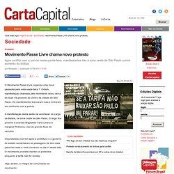 Movimento Passe Livre chama novo protesto