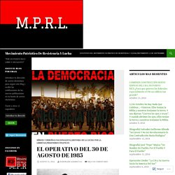 Movimiento Patriótico De Resistencia Y Lucha