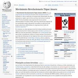 Movimiento Revolucionario Túpac Amaru