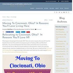14 Reasons You'll Love Living In Cincinnati, Ohio