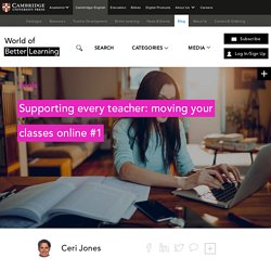 Moving Your Classes Online #1