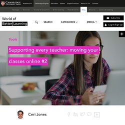 Moving your classes online #2