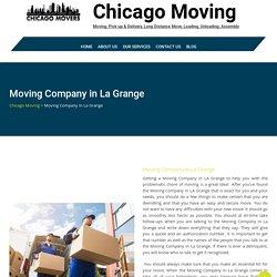 Moving Company in La Grange