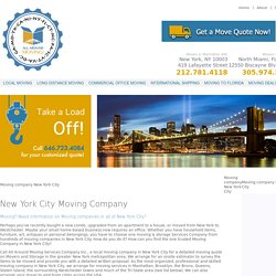 Moving company new york city