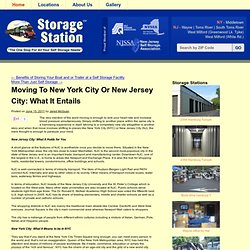 Moving To New York City Or New Jersey City: What It Entails