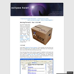 Moving Forward – Vex 1.0.0 M8 « eclipse howl