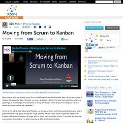Moving from Scrum to Kanban
