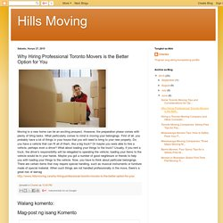 Why Hiring Professional Toronto Movers is the Better Option for You