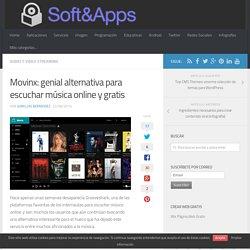 Movinx: genial alternativa para escuchar música online y gratis