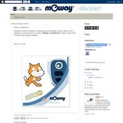 Moway Robot: MOWAY + SCRATCH 2.0