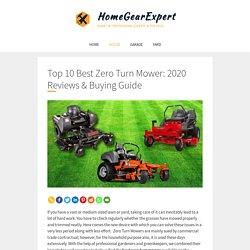 Top 10 Best Zero Turn Mower: 2020 Reviews & Buying Guide