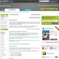 Moxibustion : utilisation des moxas d'acupuncture pour la moxibustion