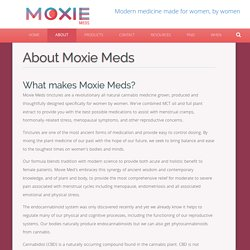 Moxie Meds- About