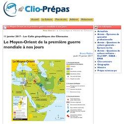 Le Moyen-Orient de la première ... - Clio Prépas