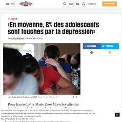 «En moyenne, 8% des adolescents sont touchés par la dépression»