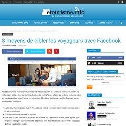 7 moyens de cibler les voyageurs avec Facebook