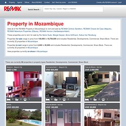 Property for sale in Mozambique
