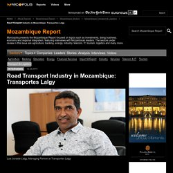 Road Transport Industry in Mozambique: Transportes Lalgy