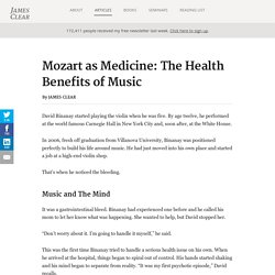 Mozart as Medicine: The Health Benefits of Music
