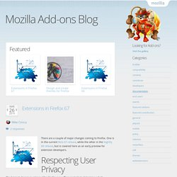 Add-ons Blog