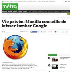 Métro Montréal - Vie privée: Mozilla conseille de laisser tomber