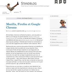 Mozilla, Firefox et Google Chrome