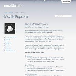 Mozilla Popcorn
