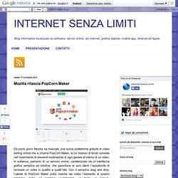 Mozilla rilascia PopCorn Maker