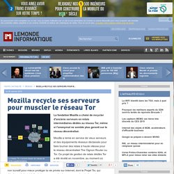 Mozilla recycle ses serveurs pour muscler le réseau Tor
