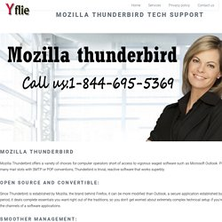Mozilla Thunderbird Tech Support Number