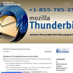 Mozilla Thunderbird Support Number