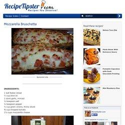 Mozzarella Bruschetta