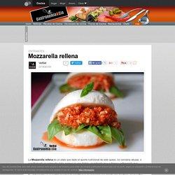 Mozzarella rellena
