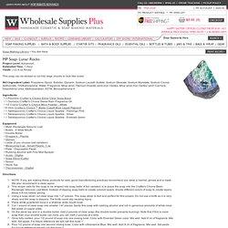 MP Soap: Lunar Rocks - WholesaleSuppliesPlus
