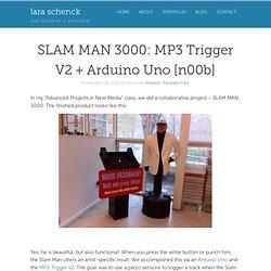 MP3 Trigger V2 + Arduino Uno