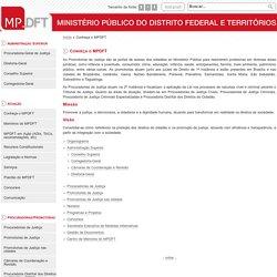MPDFT - Conheça o MPDFT