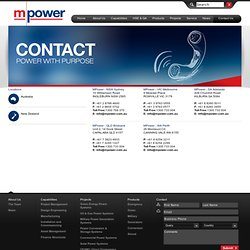 MPower - Contact Us - Mpower