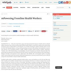 mPowering Frontline Health Workers