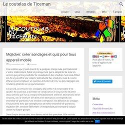Mqlicker: créer sondages et quiz pour tous appareil mobile