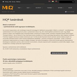 MQ® for teachers